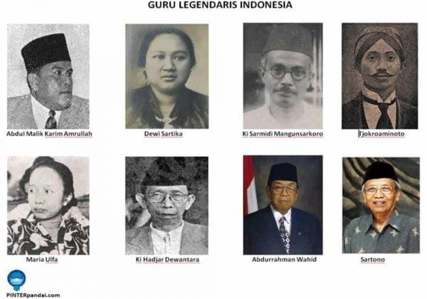 Guru legendaris di Indonesia