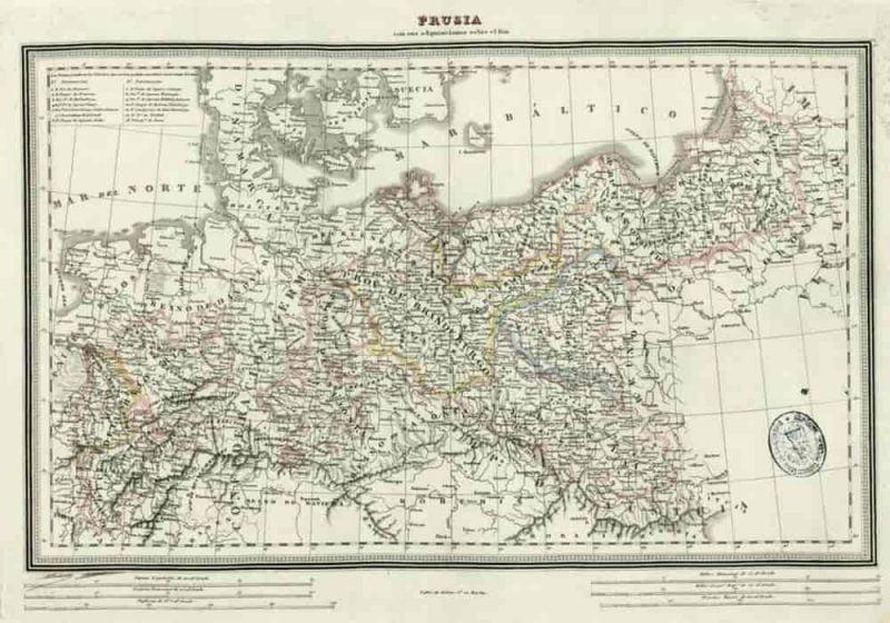Peta kerajaan prusia