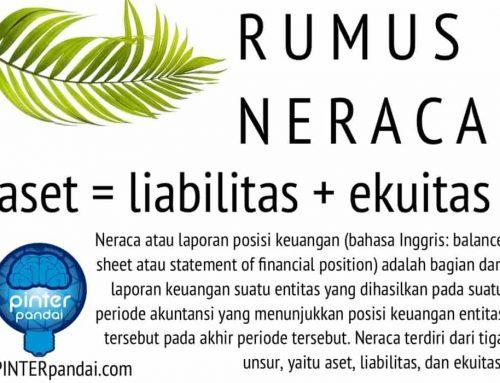 Rumus Neraca Akuntansi (Balance Sheet) – Contoh Soal & Jawaban