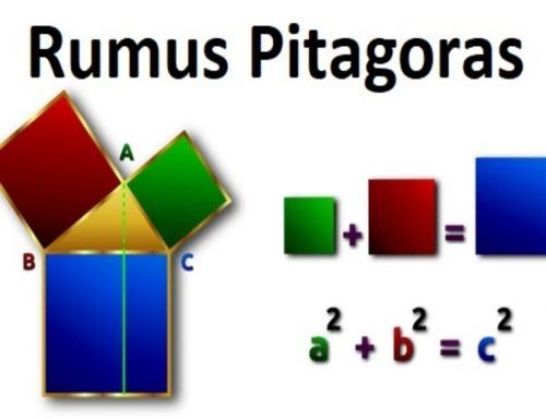 Rumus Pitagoras (Pythagoras) – Teorema Pythagoras – Beserta Contoh Soal dan Jawaban