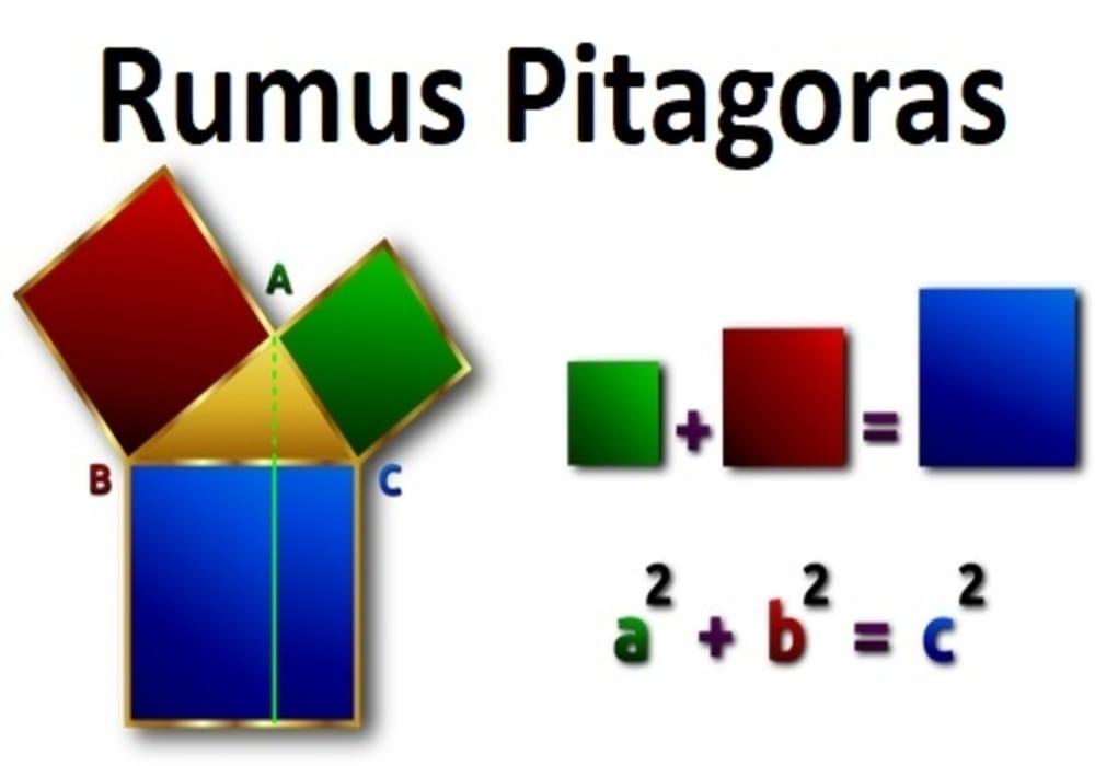 Pitagoras Rumus Pitagoras Teorema Pythagoras Soal Dan Jawaban