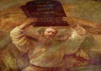 10 Perintah Allah Protestan - The Ten Commandments (Bahasa Indonesia - Inggris)