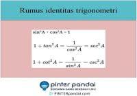 Rumus identitas trigonometri soal