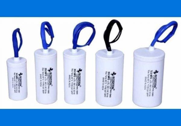 Fungsi kapasitor pada pompa air - perbandingan kapasitor