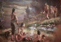 Homo sapiens manusia moderen purba primitif