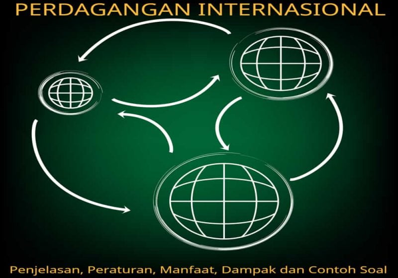 Contoh perdagangan internasional penjelasan