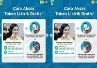 Cara akses token listrik gratis pln