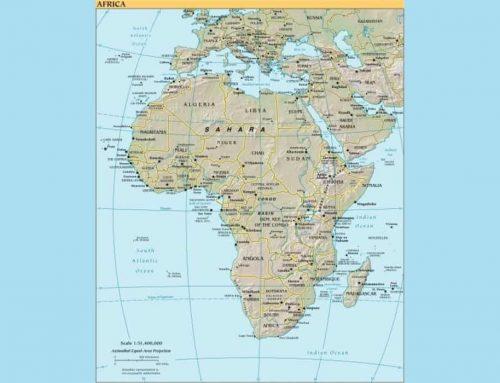 Negara Terbesar di Afrika – 10 Daftar Negara Terbesar di Afrika Menurut Area Wilayah