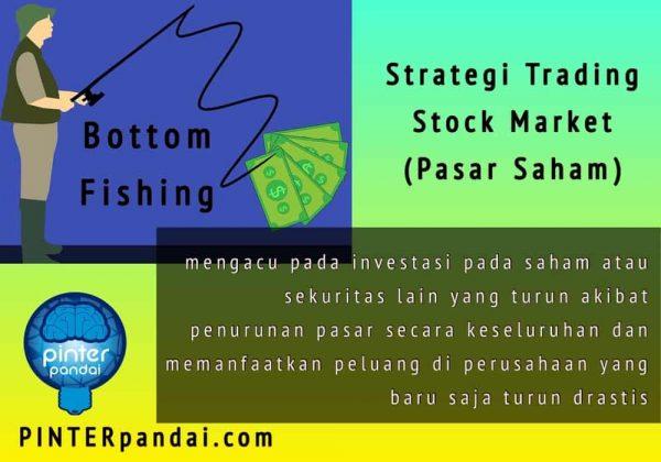 Bottom Fishing - Strategi Trading Stock Market (Pasar Saham) - Memanfaatkan peluang di perusahaan yang baru saja turun drastis
