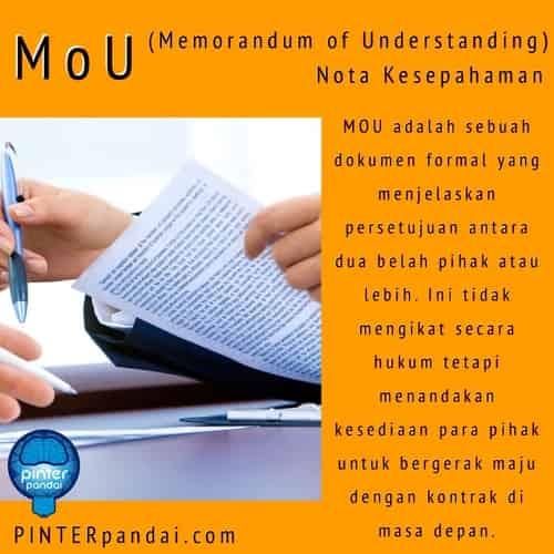 Mou memorandum of understanding