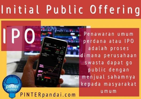 Ipo initial public offering penawaran saham perdana