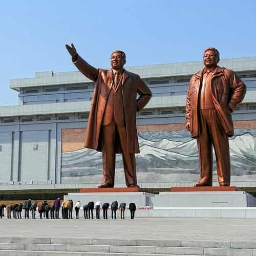 Mansudae monumen korea utara