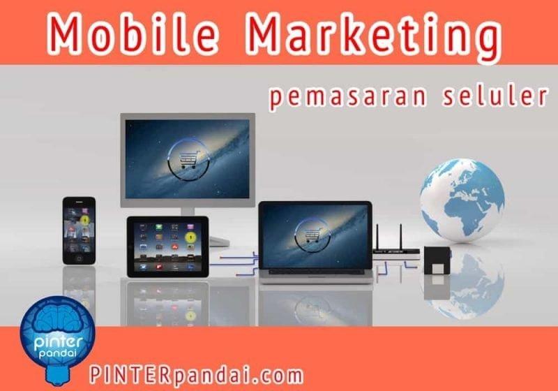 Mobile marketing pemasaran seluler