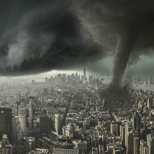Arti Mimpi Tornado - Tafsir, Makna dan Penjelasan Arti Mimpi