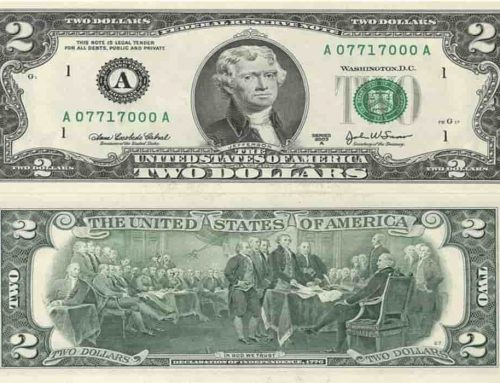 Uang Kertas 2 Dolar Amerika Serikat (2 US$) – Sejak 1776