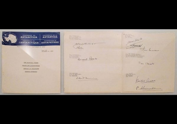 Perjanjian antartika