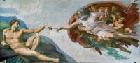 Lukisan terkenal di dunia creation of adam michelangelo