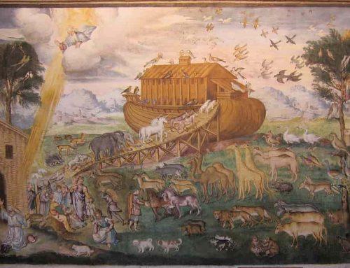 Nabi Nuh, Bahtera Nuh dan Air Bah