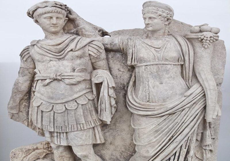 kaisar nero claudius romawi
