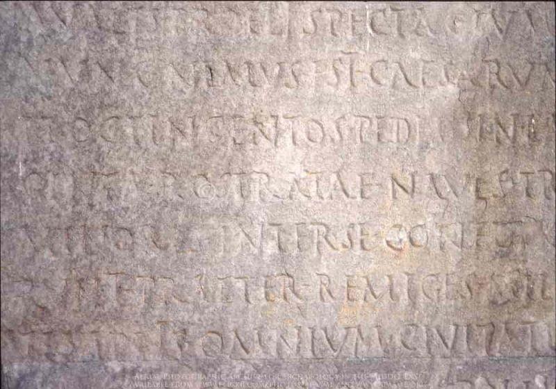 Res Gestae Divi Augusti | Surat Wasiat Augustus