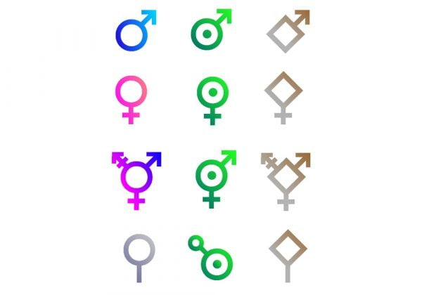 Seksualitas straight, gay, sapio, aromantic, pansexual