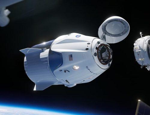Crew Dragon (Dragon 2) oleh SpaceX mengambil alih kru Stasiun Luar Angkasa Internasional