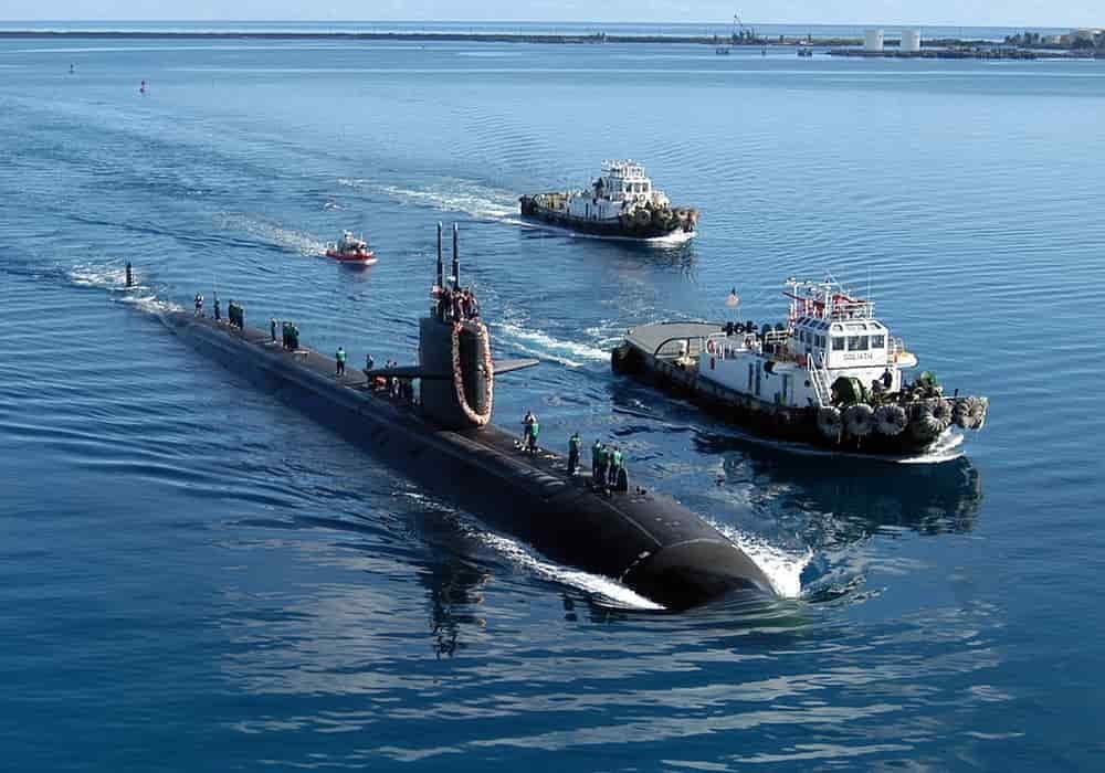 Kapal selam USS San Francisco SSN-711 Apra
