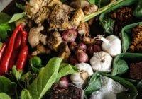 Bumbu untuk memasak makanan Indonesia