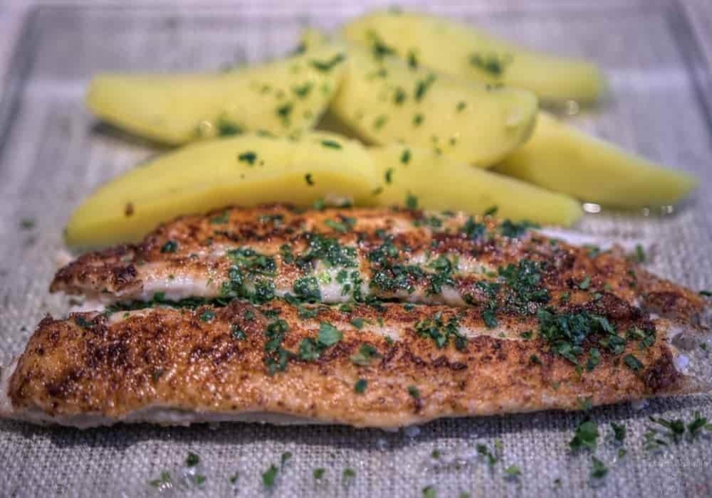 Ikan sole meuniere makanan Prancis