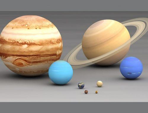 Planet Berdasarkan Ukuran | Klasifikasi Planet dari Terbesar ke Terkecil