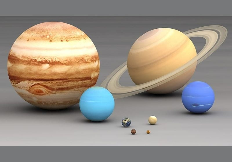 Planet berdasarkan ukuran