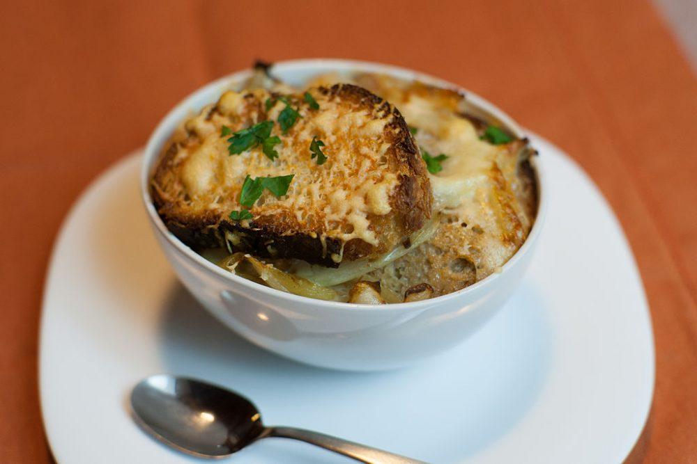 Soupe a l oignon sup bawang bombay