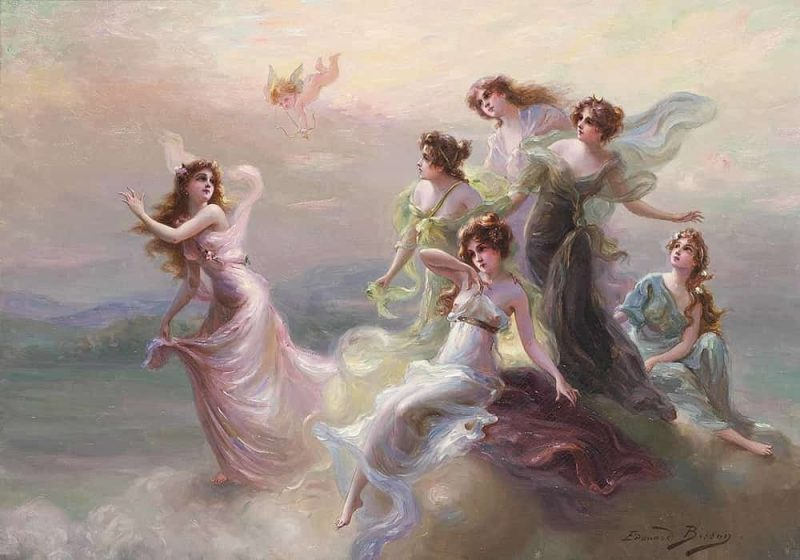 Nimfa (Peri) Mitologi Yunani | Merupakan dewa yang dermawan, pelindung kaum muda, terutama gadis-gadis muda dan pengantin wanita