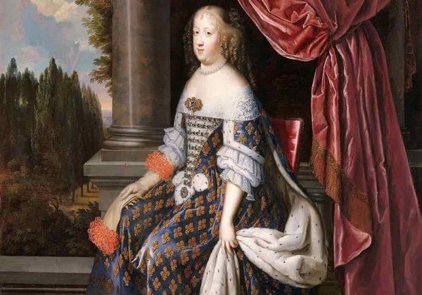 Marie Therese of Austria (Marie-Thérèse d'Autriche) Ratu Prancis dan Navarre 1638-1683 (Suami Louis XIV)