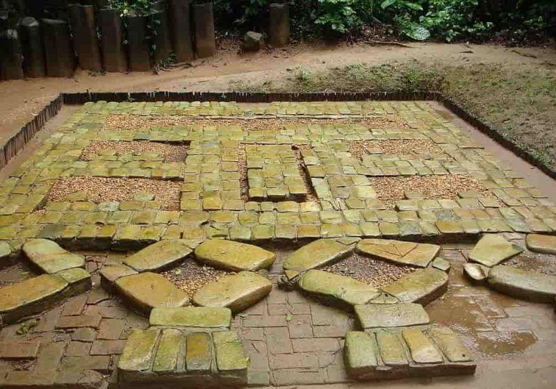 Runtuhnya Peradaban Olmek - Foto salah satu mosaik dari situs La Venta Olmec.