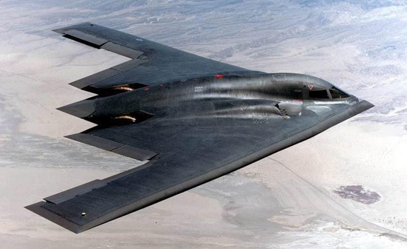 Pesawat Siluman (Pesawat Kamuflase) pesawat yang tidak terdeteksi radar